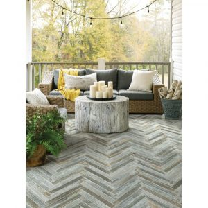 Fusion Herring bone Mosaic | Carpet Your World