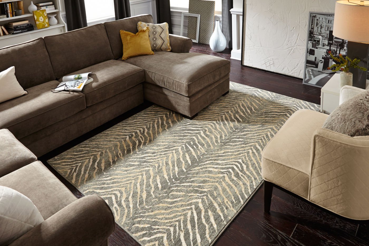 Karastan rug in living room | Carpet Your World