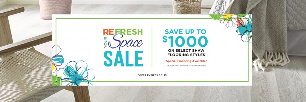 Refresh your space spring sale | Carpet Your World