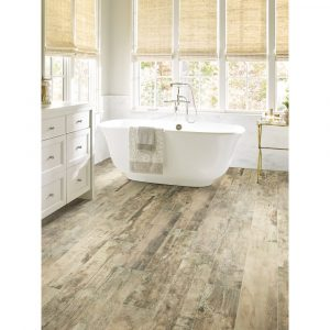 Timeworn oak bathroom flooring | Carpet Your World