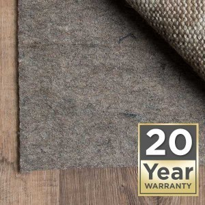 Rug pad twenty year warranty | Carpet Your World