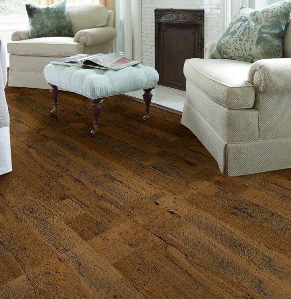 Shaw distrassed Hardwood flooring | Carpet Your World