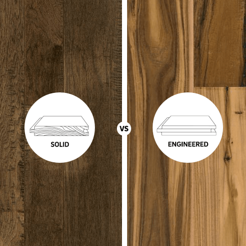 Solid vs engineered square | Carpet Your World