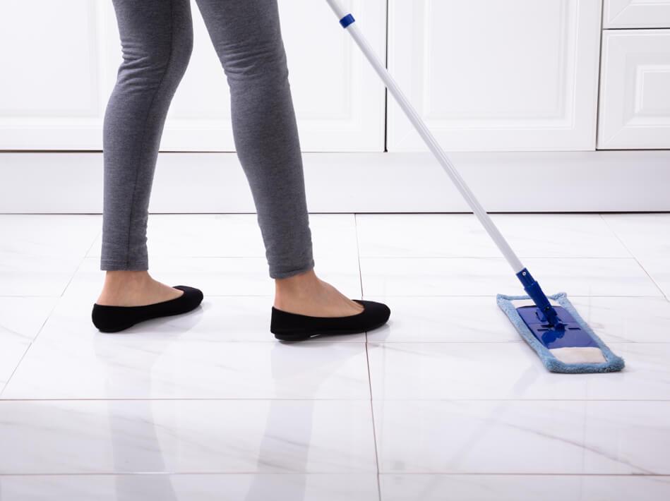 Sweep tile flooring | Carpet Your World
