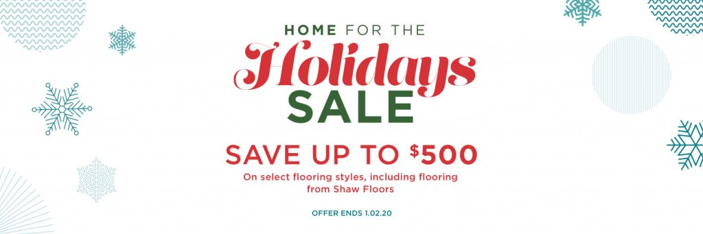 Home for the holidays sale | Carpet Your World