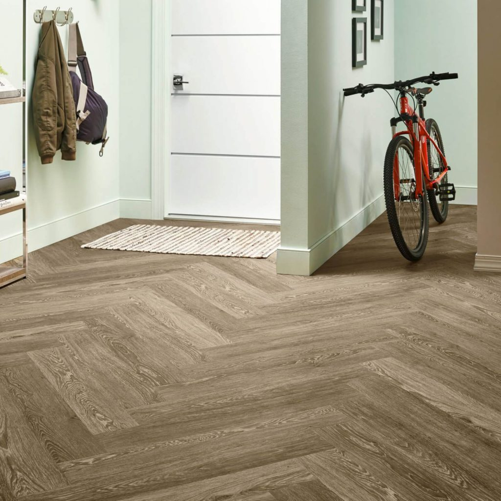 Bicycle on flooring | Carpet Your World